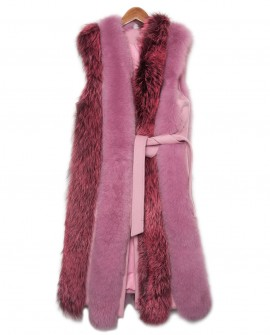 Fox Fur Long Vest