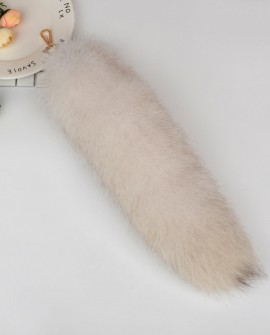 Fox Fur Tail Pendant Bag Charm