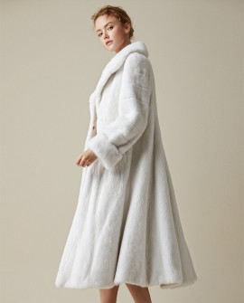 Long Mink Fur Coat