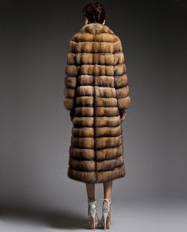 Long Sable Fur Coat