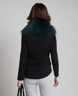 Raccoon Fur Shawl