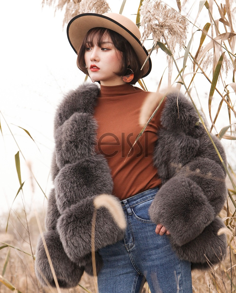 Fox Fur Coat 883bs