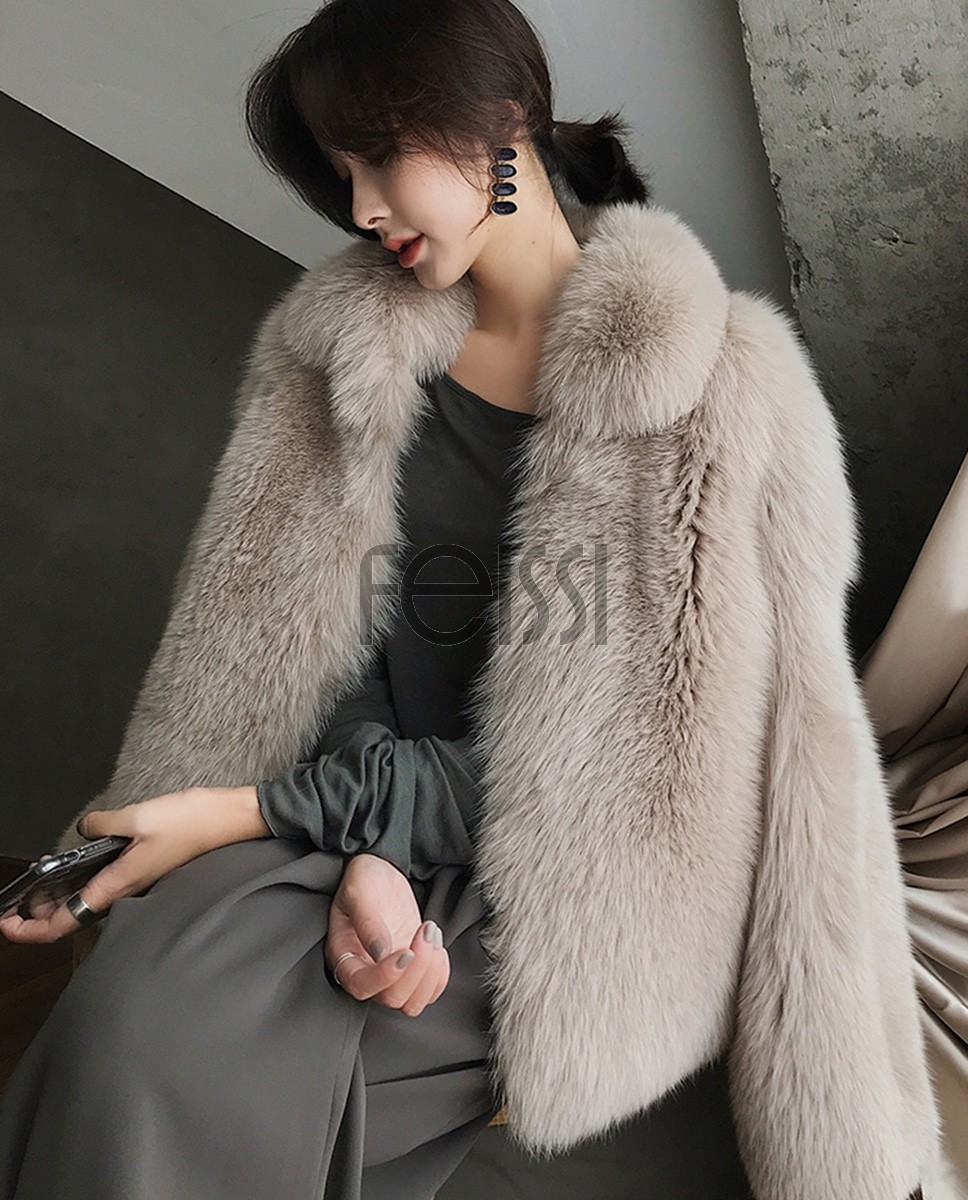 Fox Fur Jacket 321b