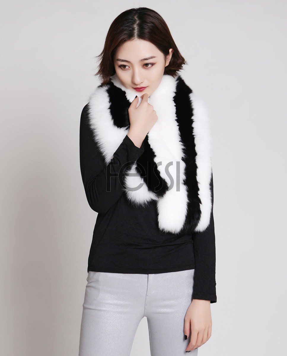 Fox Fur Scarf 866d