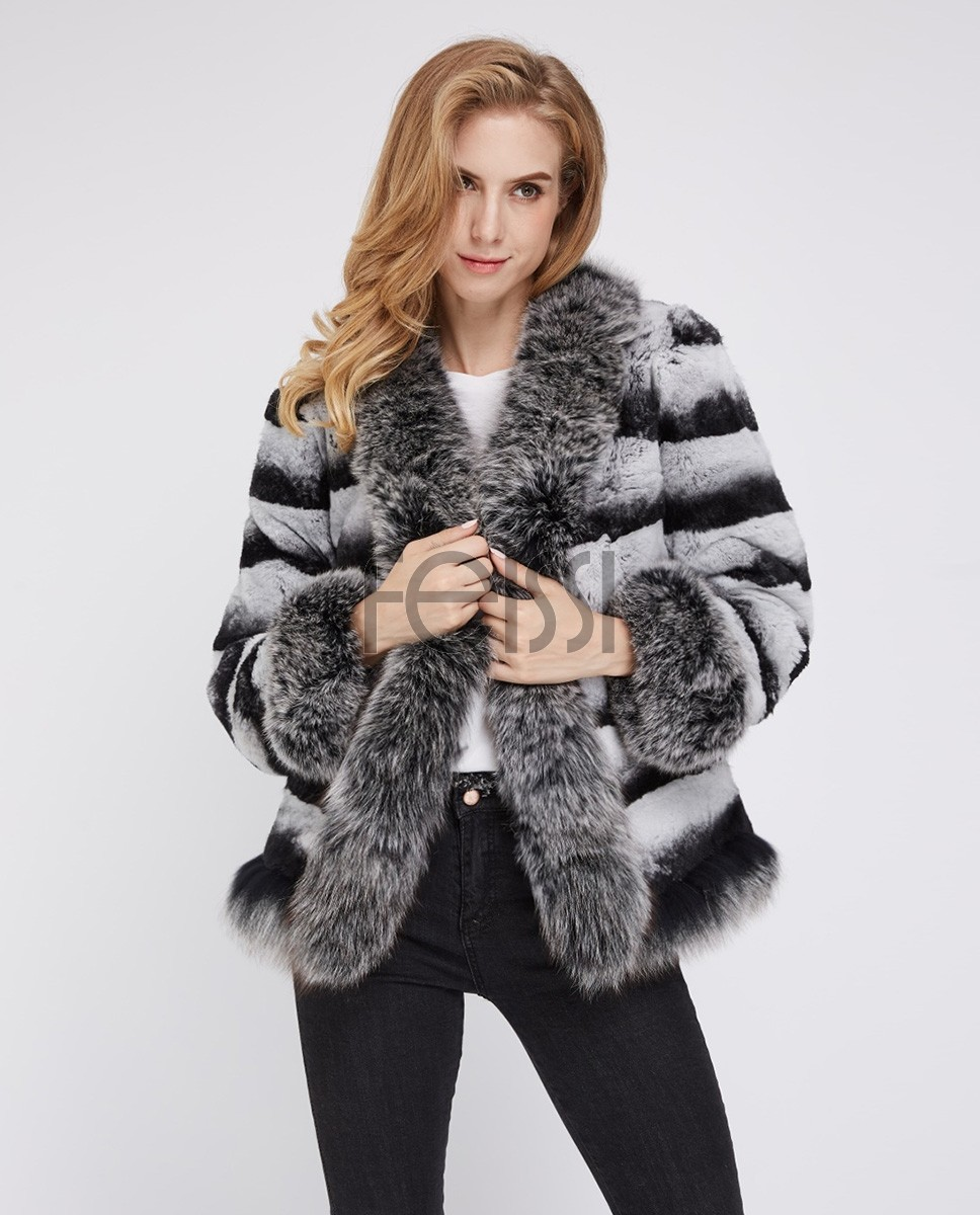 Rex Rabbit Fur Jacket 227c
