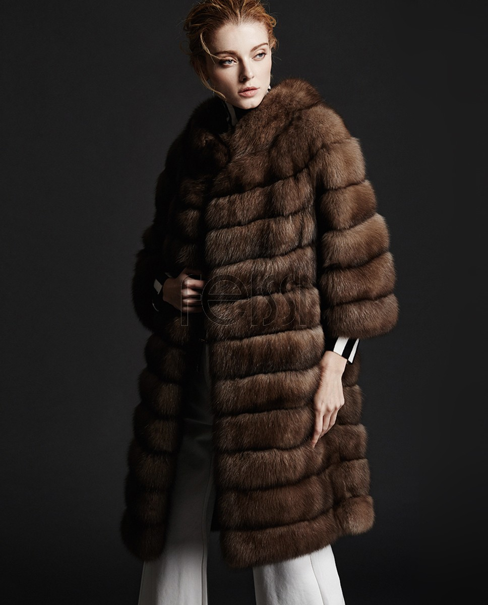 Sable Fur Coat 182a