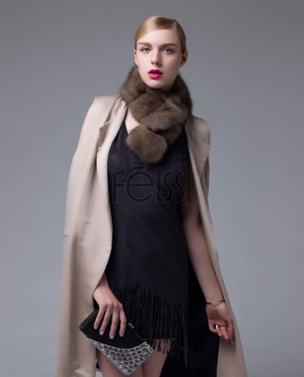Sable Fur Scarf 681_1