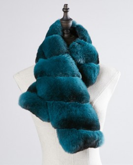 Chinchilla Fur Scarf 263a