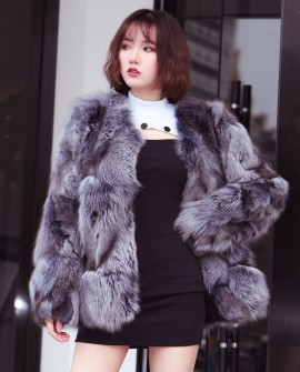 Fox Fur Jacket 0095a