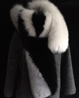 Fox Fur Long Wrap