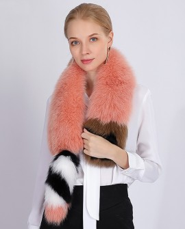 Fox Fur Scarf 364a