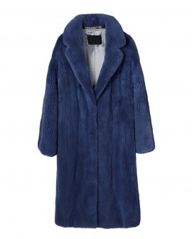Mink Fur Long Coat 0029a