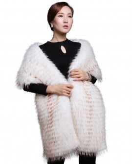 Raccoon Fur Shawl 608_1