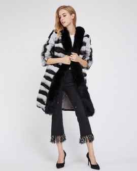Rex Rabbit Fur Coat 228b