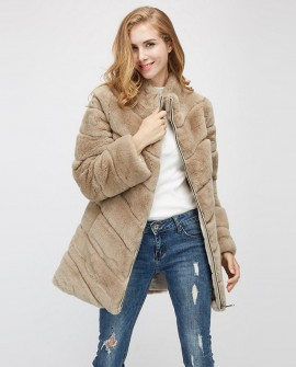 Rex Rabbit Fur Jacket 958a