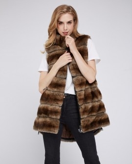Rex Rabbit Fur Vest 211i