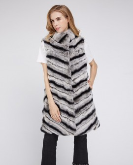 Rex Rabbit Fur Vest 217a