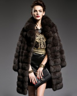 Sable Fur Coat 199a