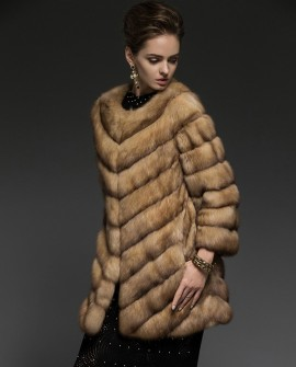 Sable Fur Coat 202a