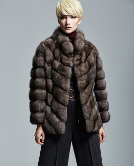 Sable Fur Jacket 189a