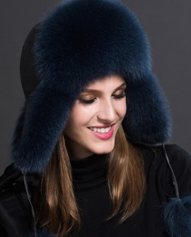 Fox Fur Trapper Hat