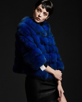 Loyal Blue Sable Fur Jacket