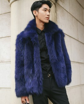 Men's Fox Fur Jacket