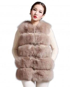 Women's Fox Fur Gilet