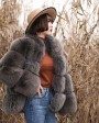 Fox Fur Coat 883bo