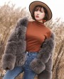 Fox Fur Coat 883bq