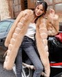 Fox Fur Long Coat 0053bc