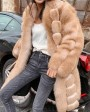 Fox Fur Long Coat 0053bd