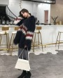 Knitted Raccoon Fur Jacket 304a