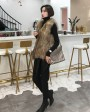 Knitted Raccoon Fur Vest 303c