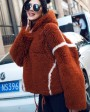 Merino Shearling Sheep Fur Coat 081a