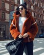 Merino Shearling Sheep Fur Coat 081c