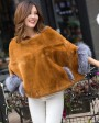 Pollover Rex Rabbit Fur Blouse Jacket 760 Khaki 3