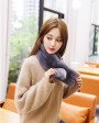 Rex Rabbit Fur Scarf 851 Gray 3