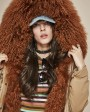 Tibet Sheep Fur Hooded Parka 119i
