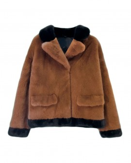Mink Fur Bomber Jacket