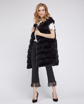 Rex Rabbit Fur Vest