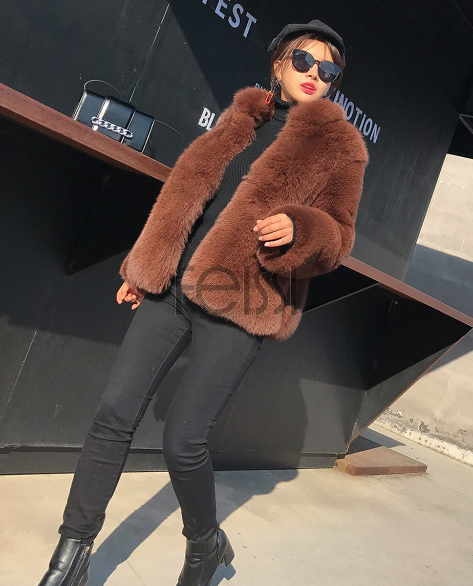 Fox Fur Coat 007a