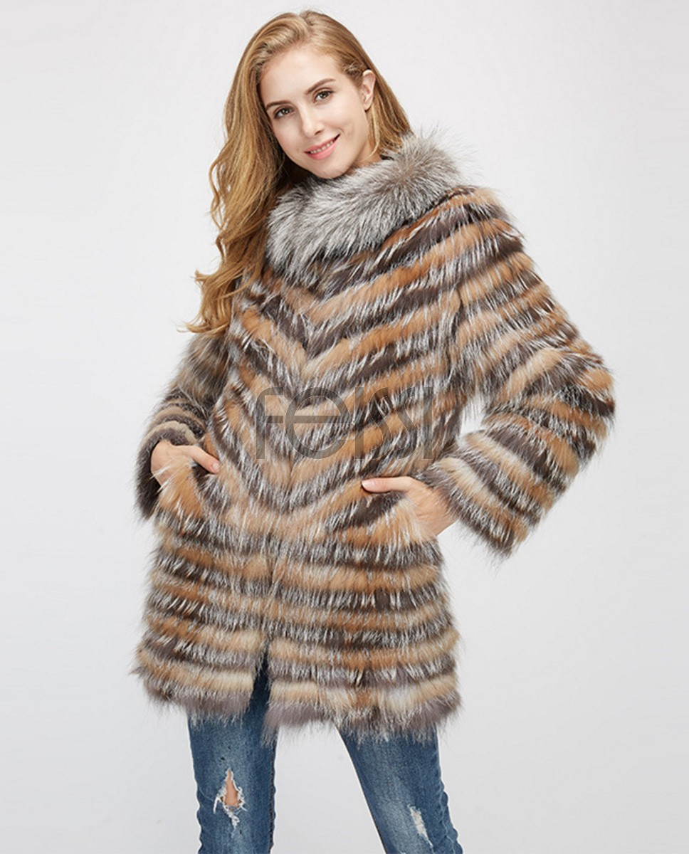 Fox Fur Jacket 969a