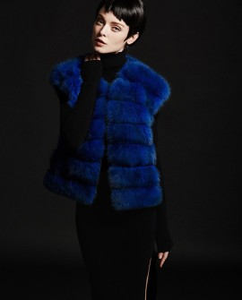 Blue Sable Fur Vest