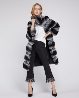 Rex Rabbit Fur Coat 219a
