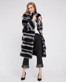 Rex Rabbit Fur Coat 220a