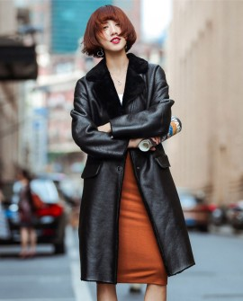 Shearling Sheepskin Coat