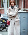 Full Length Shearling Lambwool Coat 700 Gray_3