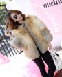Golden Island Fox Fur Jacket 988d