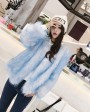 Knitted Fox Fur Jacket 980d